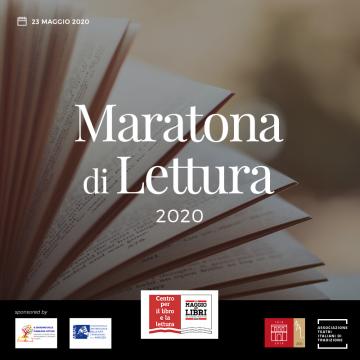 """Maratona di lettura """"La città che legge"""" – 24 ore in viaggio con i libri"""