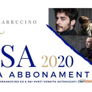 CAMPAGNA ABBONAMENTI STAGIONE DI PROSA 2020