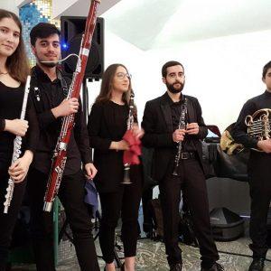 Tetra Saxophone Quartet e Quintetto ÀNEMOS