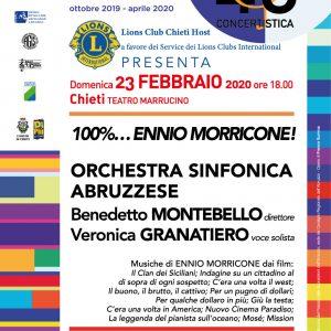 100%… Ennio Morricone