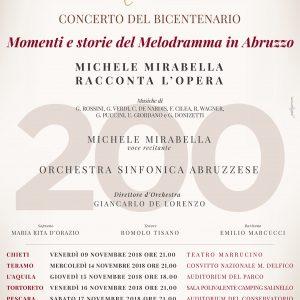 Momenti e storie del Melodramma in Abruzzo