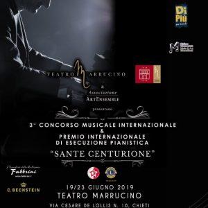 """3° CONCORSO MUSICALE INTERNAZIONALE & PREMIO INTERNAZIONALE DI ESECUZIONE PIANISTICA """"SANTE CENTURIONE"""""""
