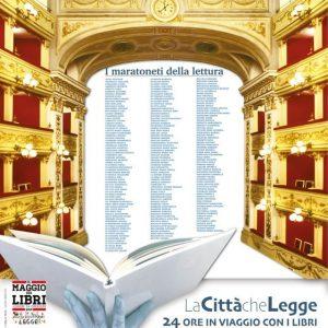 LA CITTA' CHE LEGGE – 24 ore in viaggio con i libri – Maratona di Lettura