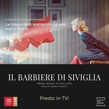 Il Teatro Marrucino a casa tua con Il Barbiere di Siviglia