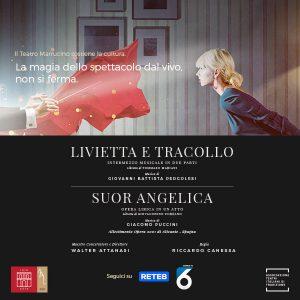 Il Teatro Marrucino a casa tua con Livietta e Tracollo e Suor Angelica