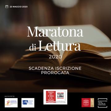 """Maratona di lettura """"La città che legge"""" – Proroga termine di partecipazione"""